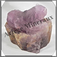 OURS - AMETHYSTE - 140x130x100 mm - 2 880 grammes - A002