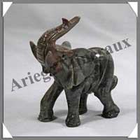 ELEPHANT - STEATITE - 70 mm - A